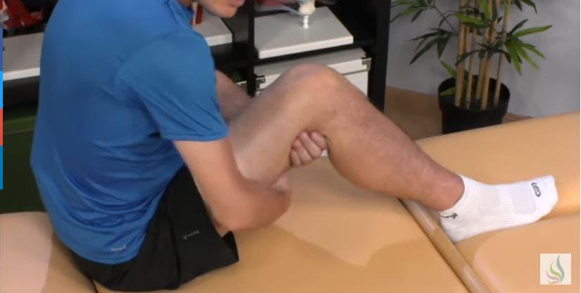 masajearse los musculos isquiotibiales