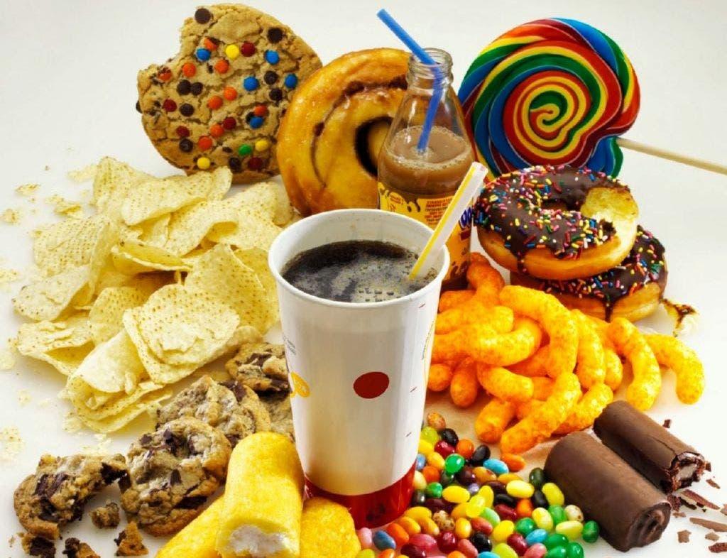 alimentos que no deberían estar incluidos en la dieta