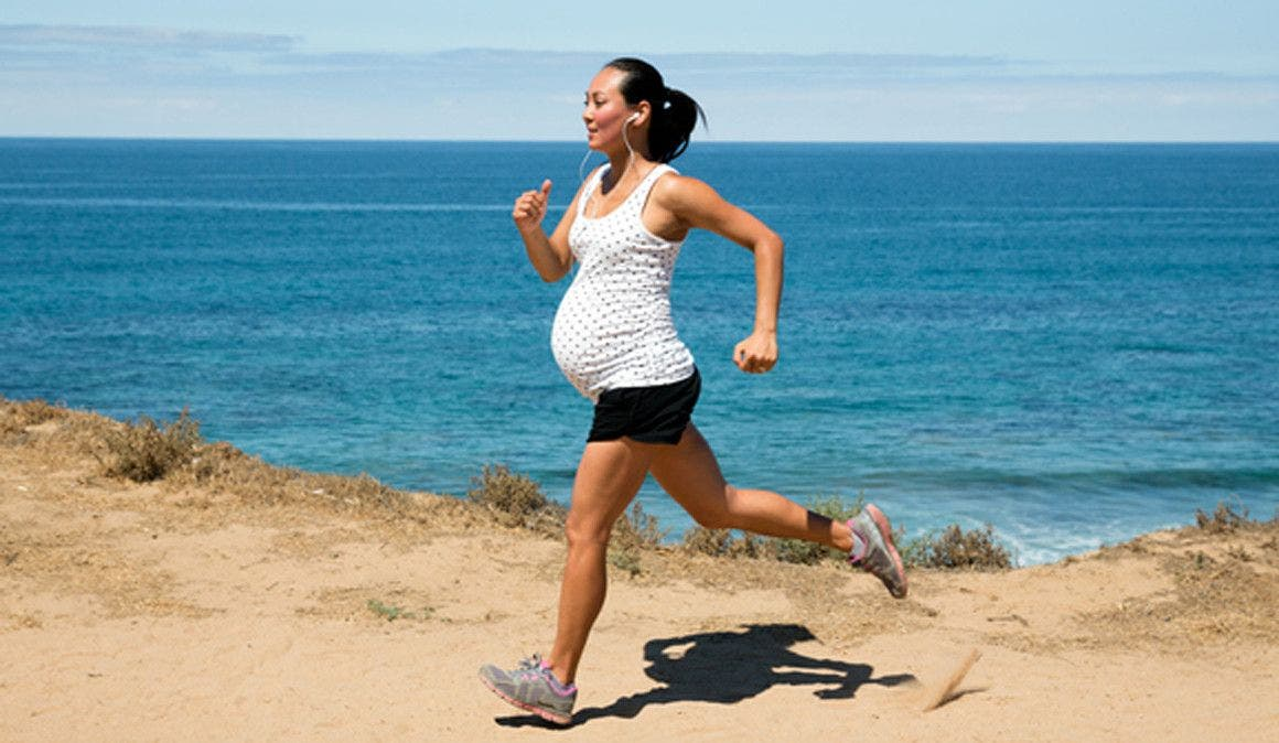 consecuencias del running en el embarazo