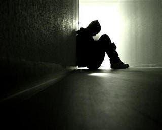 aislado depresion tristeza oscuro
