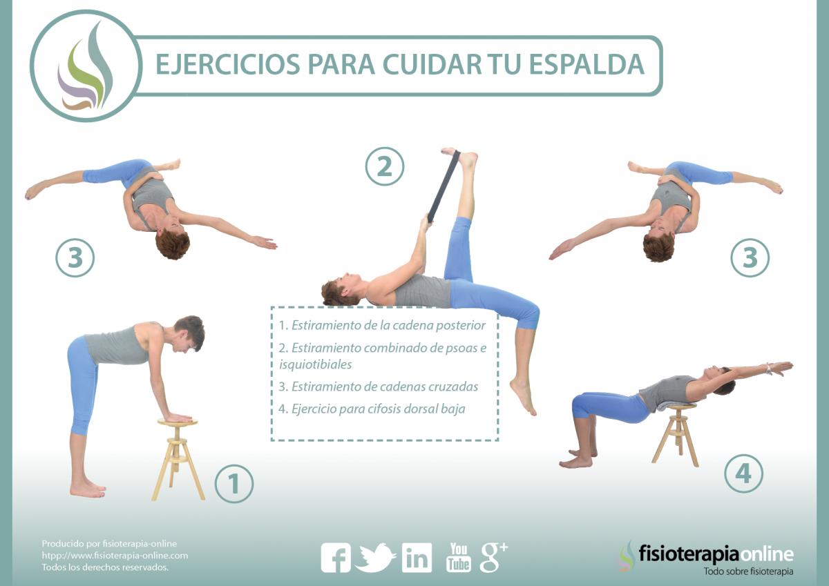 ejercicios para cuidar tu espalda