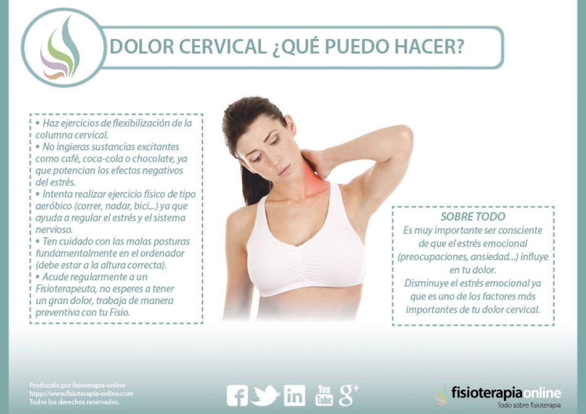 tres ejercicios para la cervicalgia