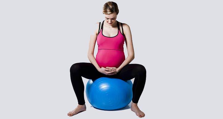 ejercicios para aliviar la pubalgia en el embarazo