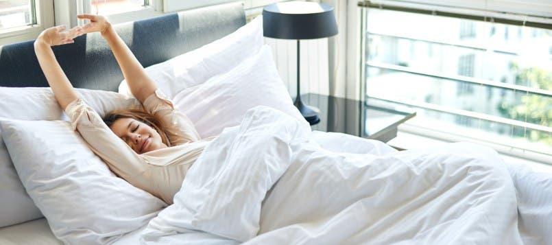 Ejercicios de estiramientos al levantarte de la cama