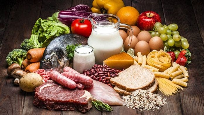frecuencia en el consumo de alimentos