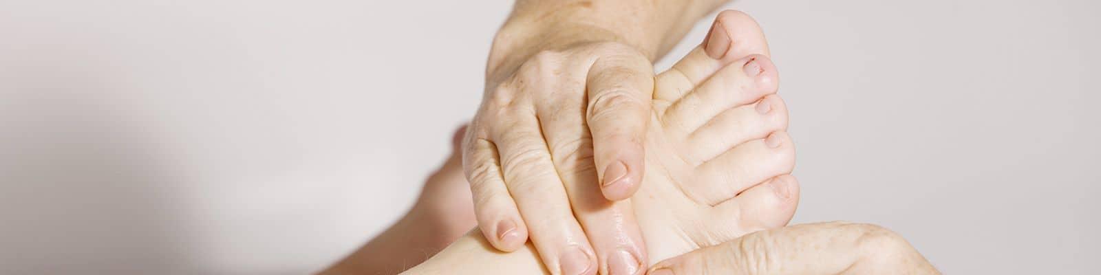 Lesiones del pie y sus cuidados