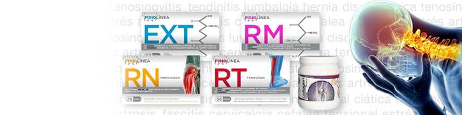 FisioLínea - Complementos nutricionales