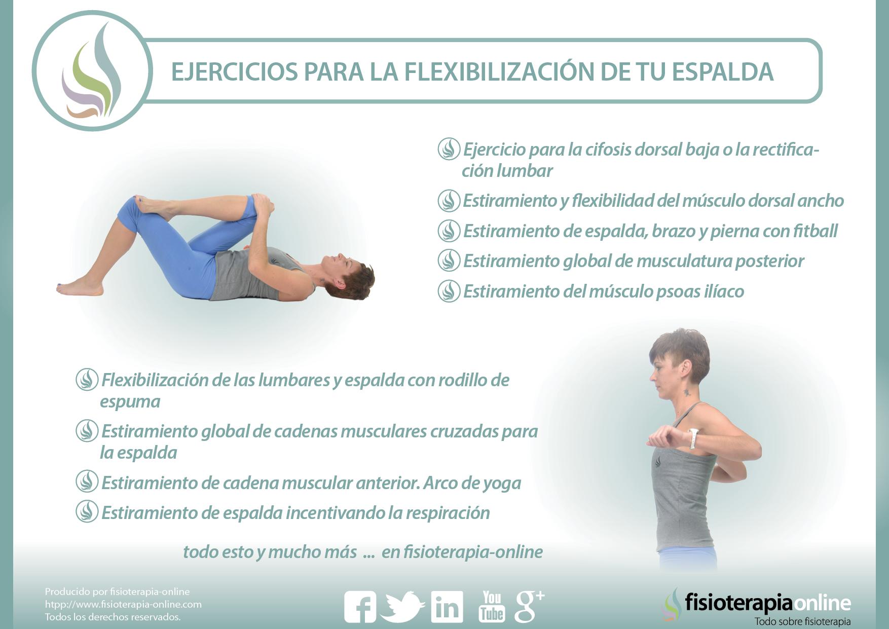 Flexibiliza tu espalda | Fisioterapia Online