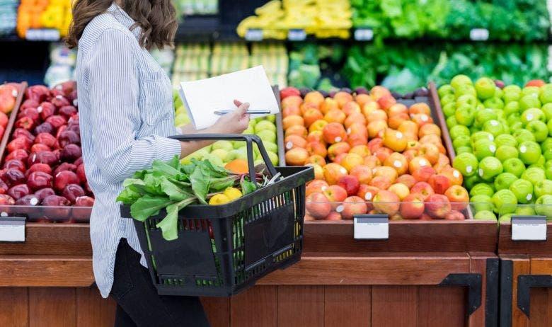 lista de compras de alimentos saludables