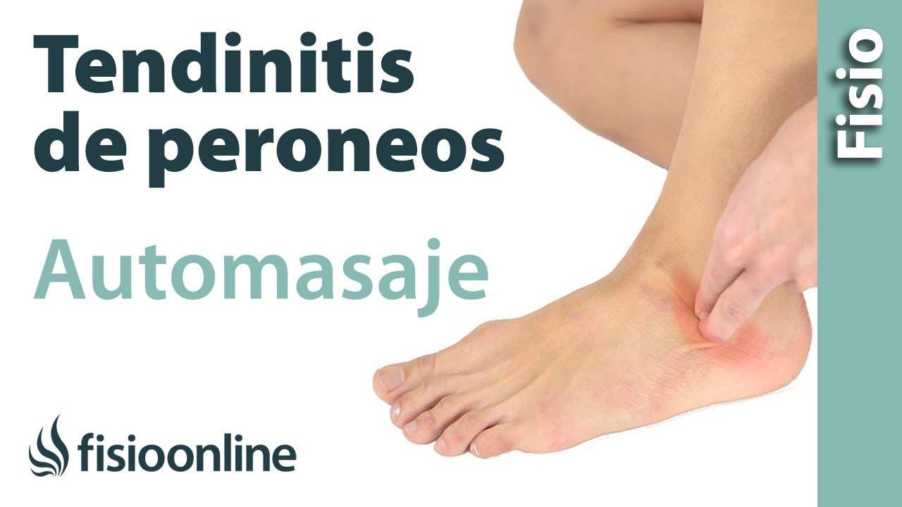 Auto-masaje para la tendinitis de los peroneos | Fisioterapia Online