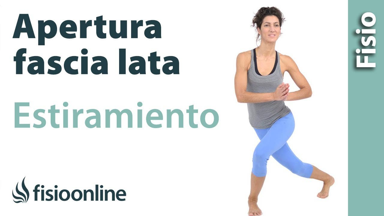 Estiramiento de tensor de la fascia lata | Fisioterapia Online