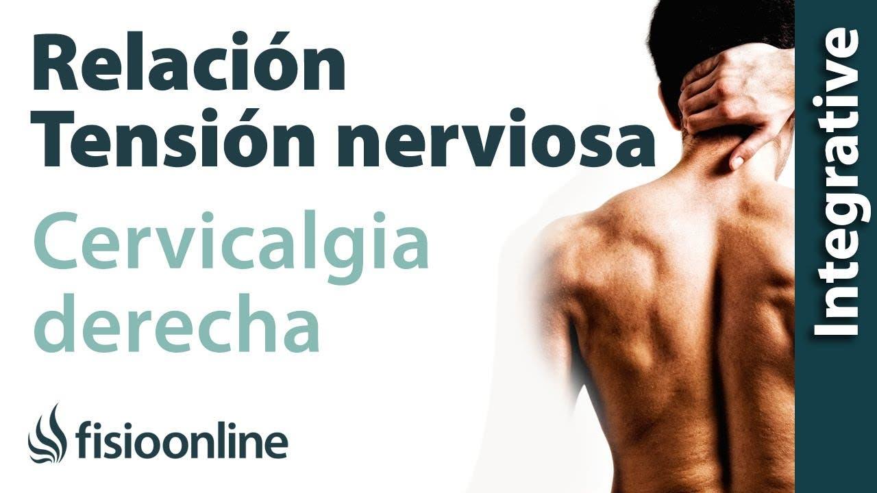 Cervicalgia o dolor cervical a lado derecho y su relación con el ...