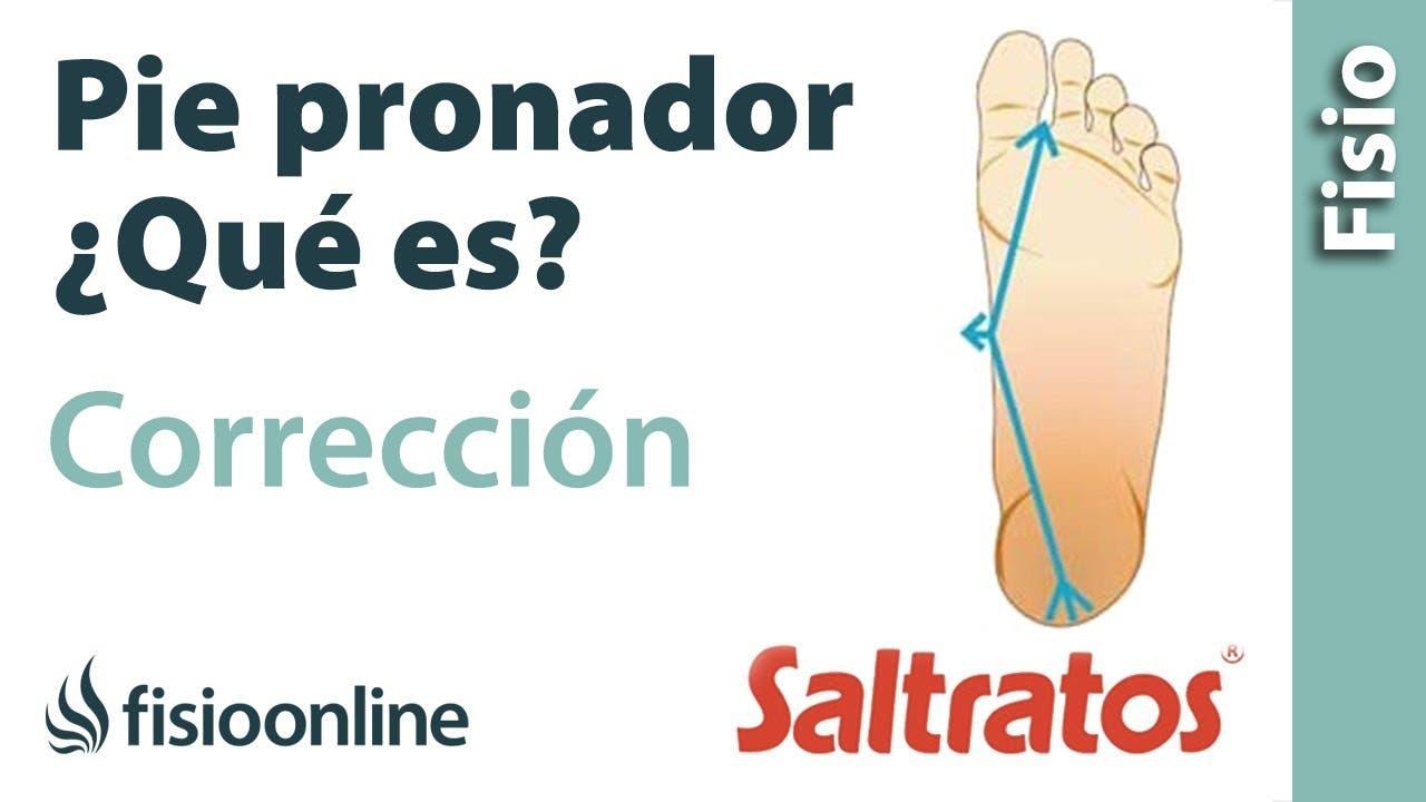 Tratamiento y corrección para el pie pronado o pronador ...