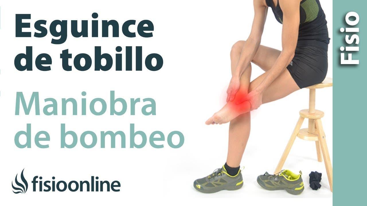 esguince fisioterapia: