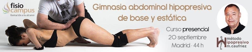 Curso de gimnasia abdominal hipopresiva de base y estática - FisioCampus