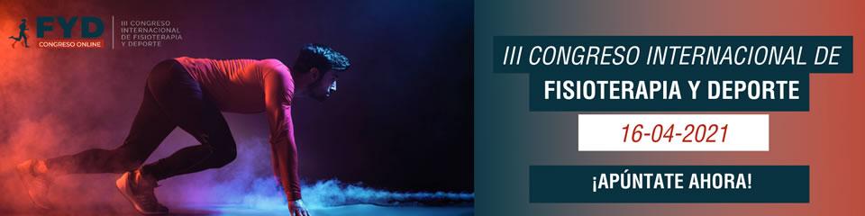 Congreso Internacional de Fisioterapia Deportiva - FYD Online 2021