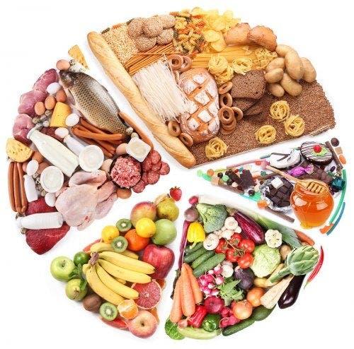 alimentos que deberían estar en una dieta, nutrientes contenidos en los alimentos