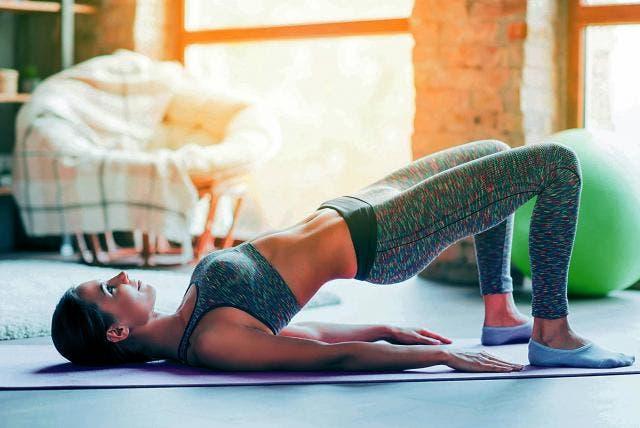 Pilates en casa para principiantes 40 minutos