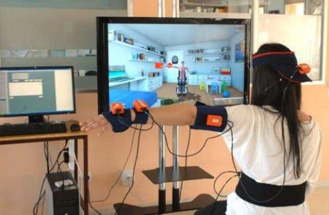 Tratamiento amputados realidad virtual inmersiva