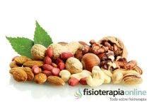 Osteoporosis, leche, alimentación y frutos secos.