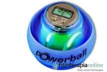 ¿Qué es la Powerball y cuál es su utilidad en la rehabilitación de la mano?