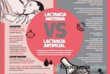 Lactancia artificial o lactancia materna