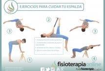 Te presentamos unos útiles ejercicios para cuidar tu espalda, pruébalos!