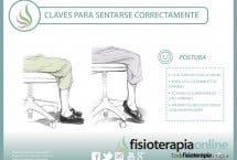 Cómo apoyar los pies y sentarse bien en el trabajo