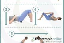 6 ejercicios, estiramientos y automasajes para el síndrome del piramidal