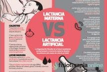 Lactancia artificial o lactancia materna