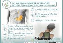 7 claves para entender la relación  entre el estómago y el dolor de espalda