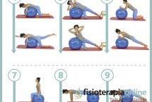 Aprende 10 útiles ejercicios para entrenar tu core con fitball