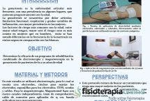Estudio piloto de dos programas de rehabilitación para la gonartrosis