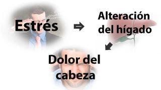 Relación del estrés con las cefaleas y las migrañas