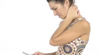 Text Neck. Repercusiones del uso del smartphone sobre el organismo.