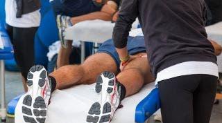 Masaje deportivo. Tipos y diferencias con otros masajes