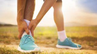 Tratamiento y recuperación de un esguince o entorsis de tobillo