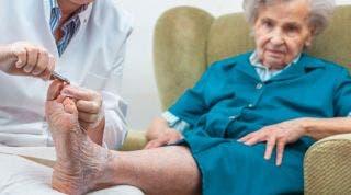 Lesiones y dolencias más comunes en el pie geriátrico