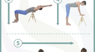 6 estiramientos para cuidar tu espalda y piernas en 10 minutos