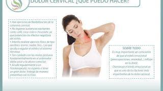 Aprende a cuidarte con este eficaz automasaje para las cervicales