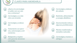 La cervicalgia o dolor cervical, Información, tratamiento y consejos