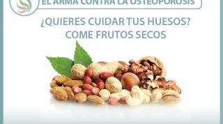 Frutos secos, el arma contra la osteoporosis