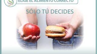 Elige el alimento correcto