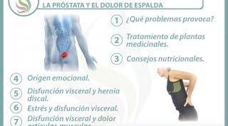 7 claves para entender la relación  entre la próstata y el dolor de espalda