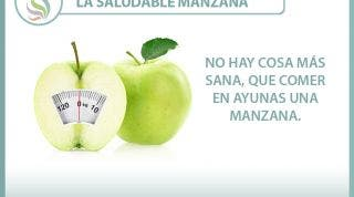 La saludable manzana