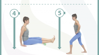 6 ejercicios, estiramientos y automasajes para la tendinitis de Aquiles