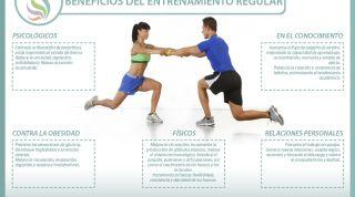 Los beneficios del ejercicio regular