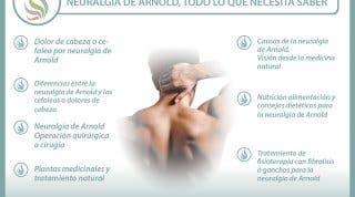Neuralgia u occipitalgia de Arnold, un dolor de cabeza que tiene solución con un buen tratamiento