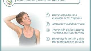 Estira el trapecio y mejora tu dolor de cuello y espalda