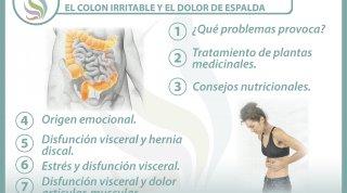 7 claves para entender la relación  entre el colon irritable y el dolor de espalda
